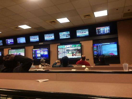 Hollywood Casino at Charles Town Races: Seriously into it