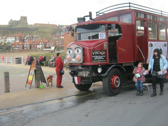 Whitby Steam Bus: Elizabeth!