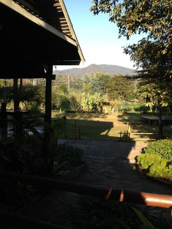 Royal Ping Garden & Resort: View from restaurant
