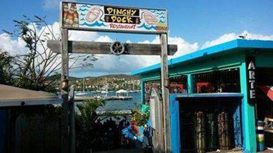 Dinghy Dock : Front entrance