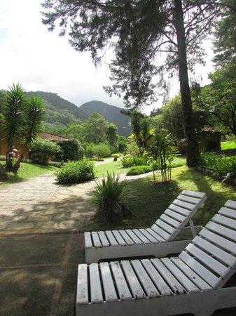 Villa Sao Romao: area para relax