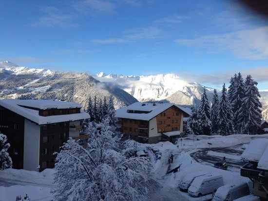 Hotel de Verbier : Room 60 3rd Floor view from balcony