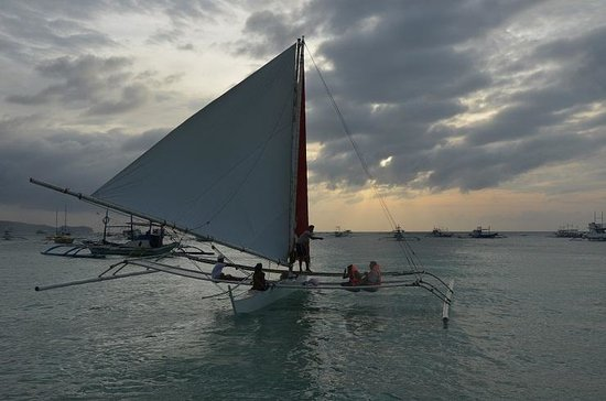Bella Isa Salon and Spa: sailing as part of the package