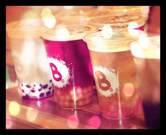 Bubbly: Fresh bubble teas