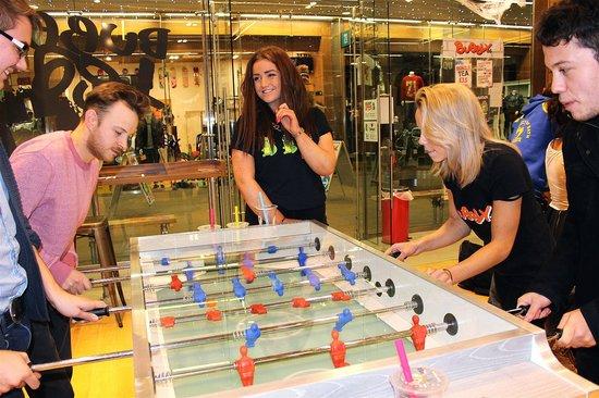Bubbly: Table football fun