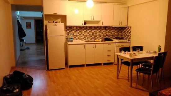 Leda Flats: Kitchen in Family Room #6