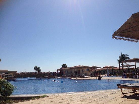 Maritim Jolie Ville Royal Peninsula Hotel & Resort: View From lounger