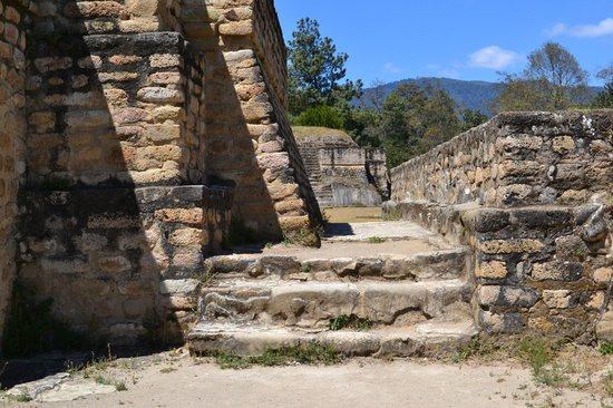 Iximche: Walkway of the Temple of the Wind