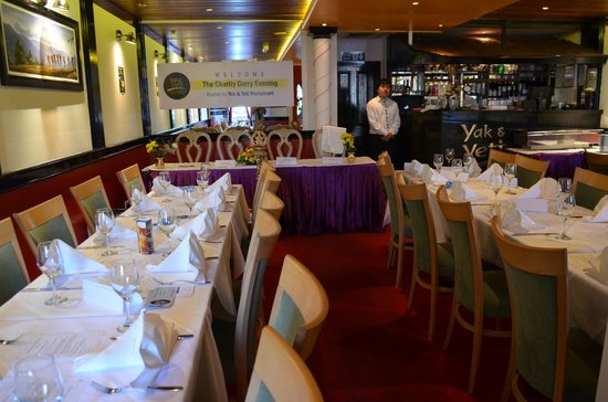 Yak & Yeti - Bromley: CHARITY CURRY EVENING