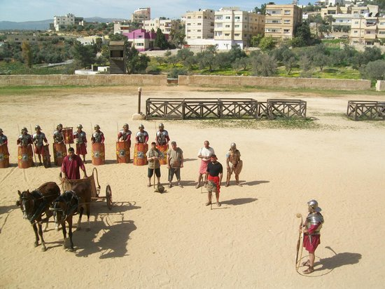 The Roman Army and Chariot Experience: Curtain Call