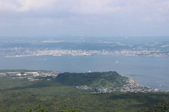 Yunohira Lookout : 鹿児島市内