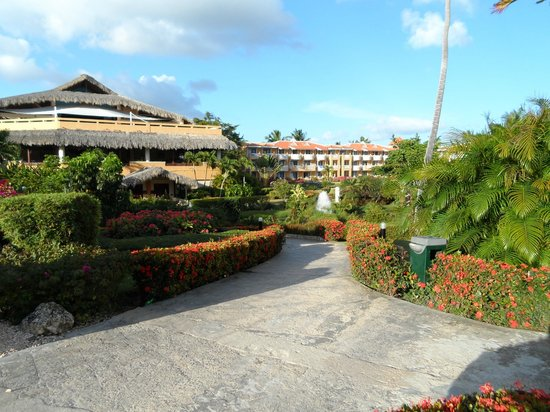 Viva Wyndham Dominicus Palace: View of the resort grounds