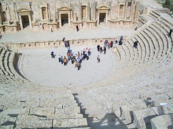 Ruinas de Jerash: Roman Theatre