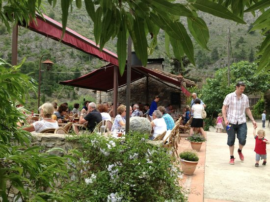 L'hostal, Castelnou, June 2013