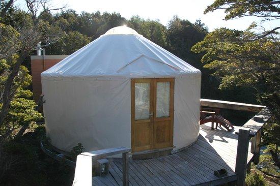 Patagonia Camp: our yurt