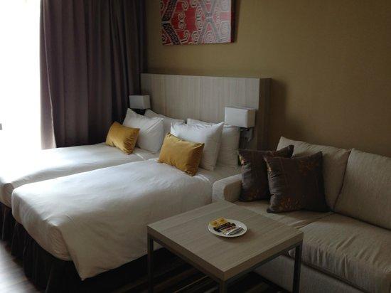 Citadines Uplands Kuching: Bed
