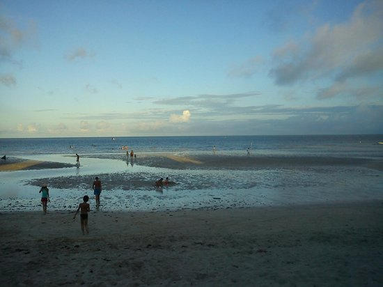 Carne de Vaca Beach: Piscinas naturais