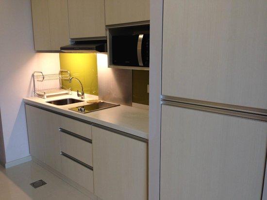 Citadines Uplands Kuching: Kitchen
