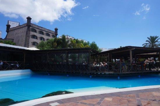 Gran Castillo Tagoro Family & Fun: Main restaurant - outdoor seating section