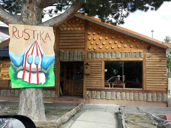 Rustika Restaurant: Entrada principal