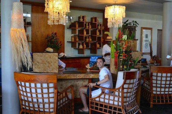 Kempinski Seychelles Resort: Reception