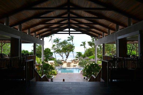 Kempinski Seychelles Resort: Lobby and reception