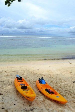 Kempinski Seychelles Resort : Hotel beach, Baie Lazare