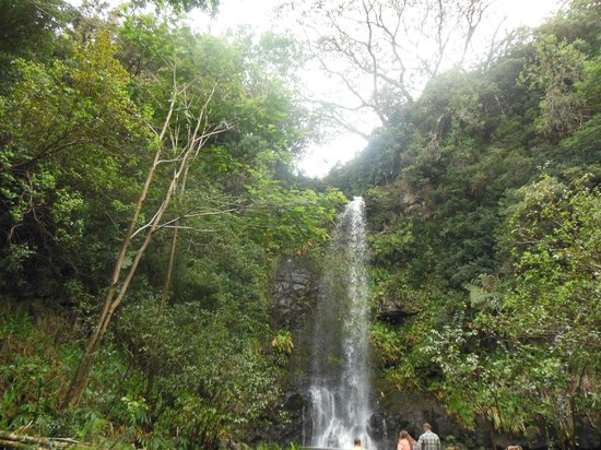 ATV Outfitters Hawaii: one of the waterfalls you will see
