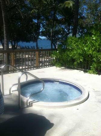 Banana Bay Resort - Key West: hot tub - clean and nice temp