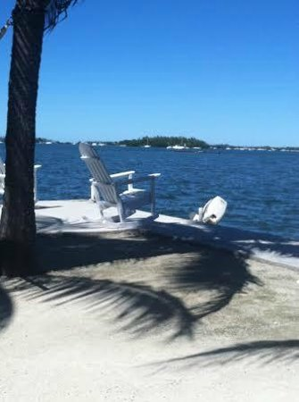 Banana Bay Resort - Key West : rocking chairs and hammock - very relaxing, great view