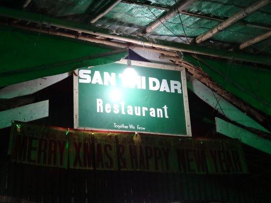 San Thi Dar Restaurant : L'enseigne du San Thi Dar