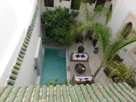 Riad Kheirredine : Riad courtyard