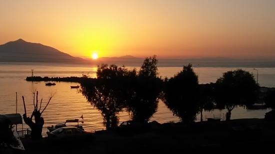 Hotel Cohyli: Ausblick Sonnenuntergang