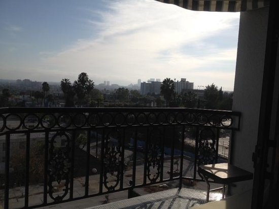 The London West Hollywood: Room 316 balcony view