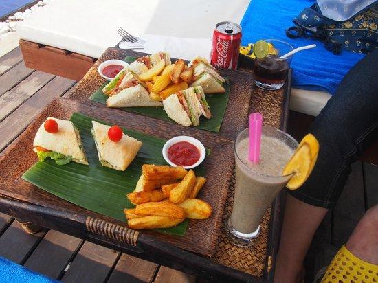 Navutu Dreams Resort & Wellness Retreat : sandwich