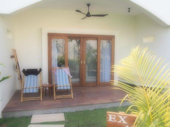 Navutu Dreams Resort & Wellness Retreat : front of room