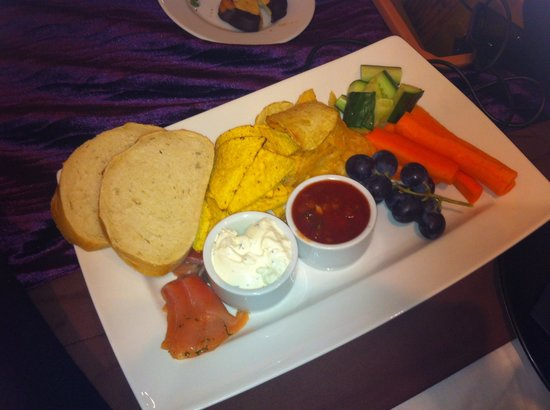 Hallmark Hotel Manchester : Our complimentary nibbles