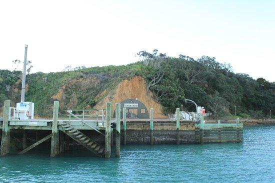 Rotoroa Island: The Port