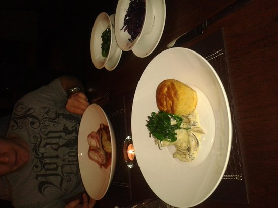 Barnham Broom: dinner