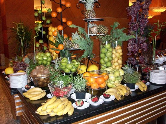 Rixos Sungate: fresh fruits allways