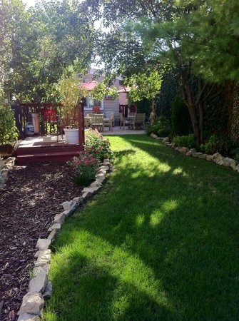 Patchwork Inn: Backyard View