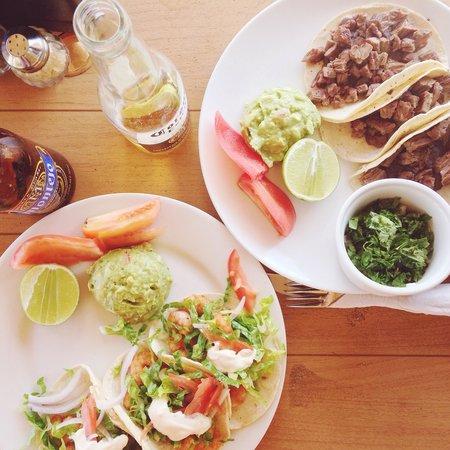 Petit Lafitte: Taco lunch