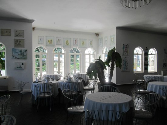 Jamaica Palace Hotel: dining room