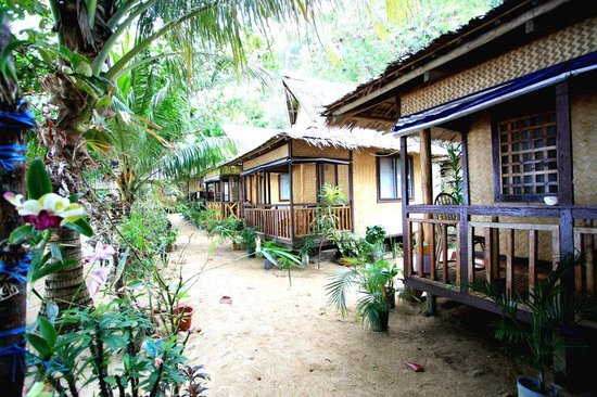 Lugadia Beach Cottages: Beachfront cottages.