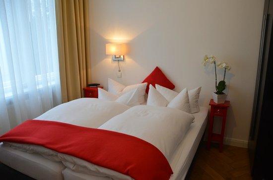 Hotel Alexander: Bequeme Betten