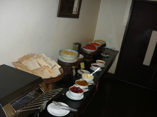 Royal Peninsula Hotel Chiang Mai : Breakfast buffet