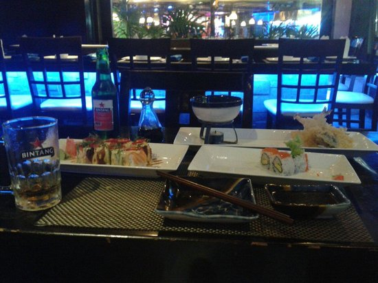 Bluefin Japanese Fusion and Lounge: Good dishes