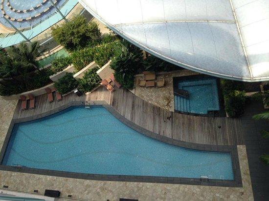 Swimming Pool Picture Of Resorts World Sentosa Hotel Michael Sentosa Island Tripadvisor