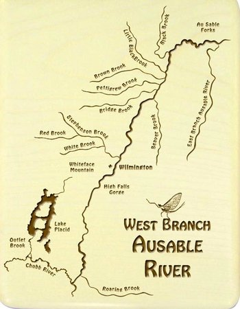 Ausable River Map AuSable river map   Picture of Ausable River, New York   TripAdvisor Ausable River Map