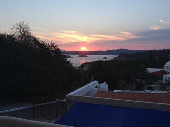 Villa Sol y Mar : Stunning Sunset